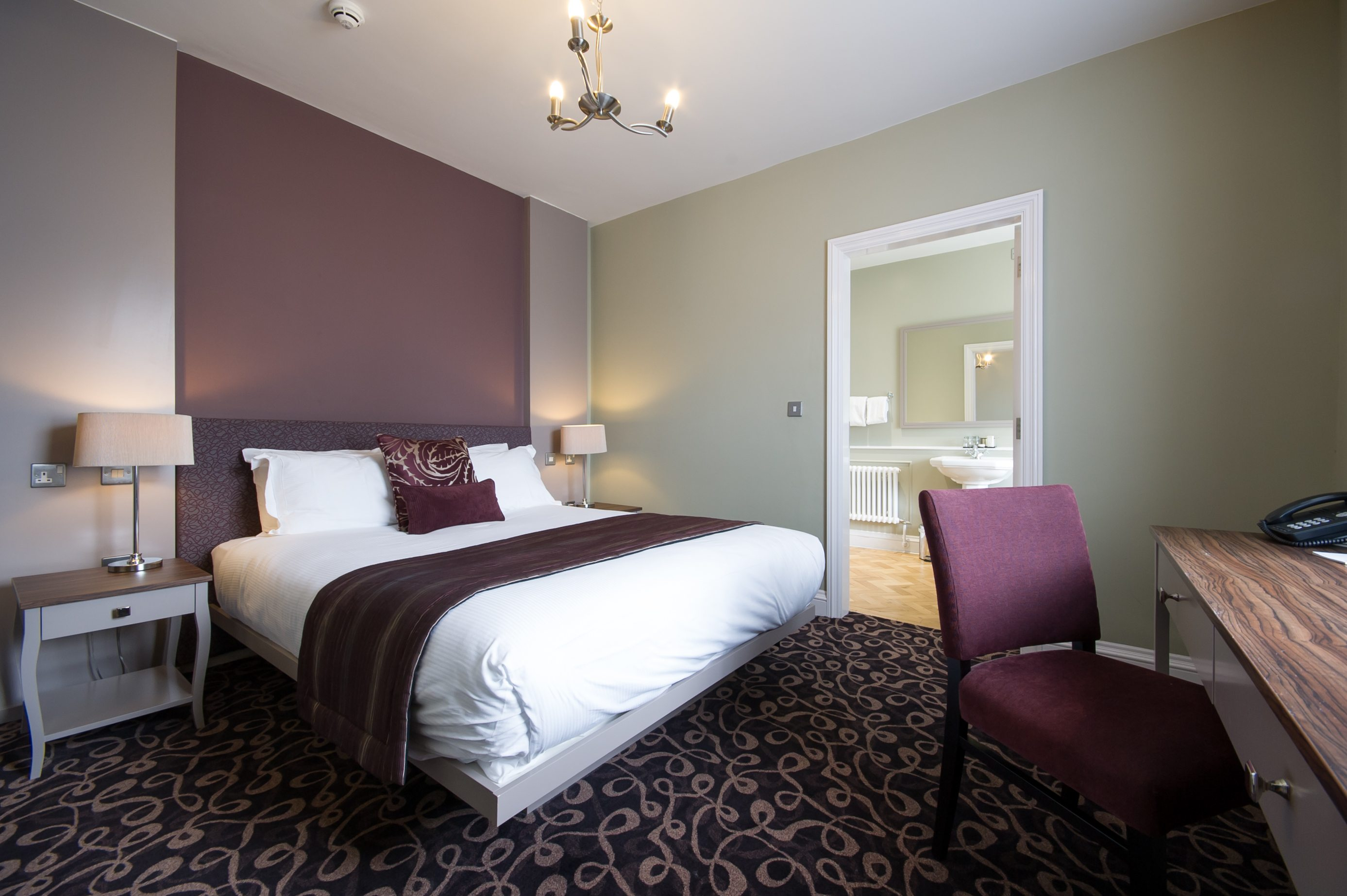 Sheffield Boutique Hotel Room at Halifax Hall