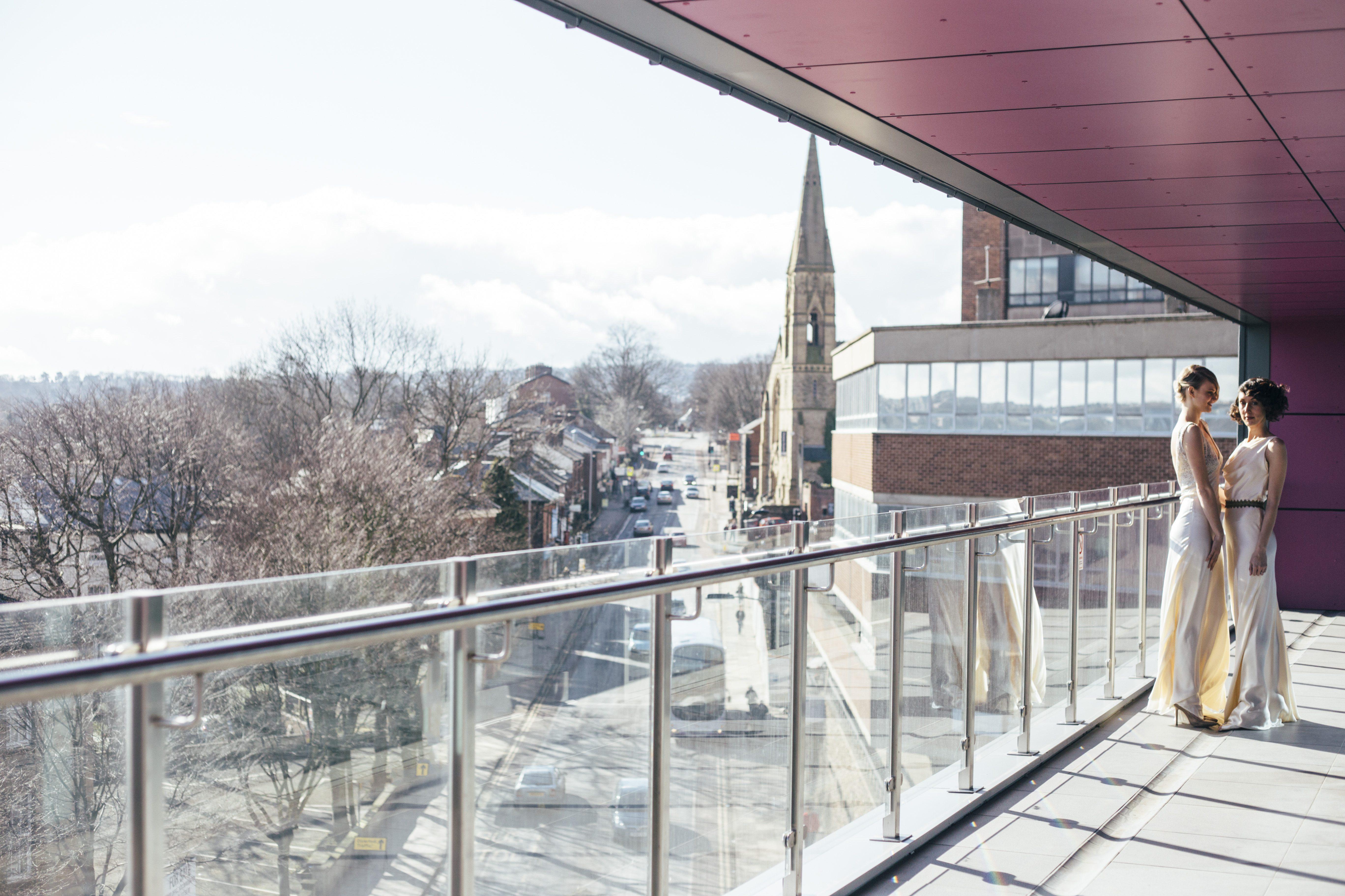Inox Wedding Venue Sheffield with Stunning City View