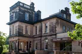Halifax Hall venue in Sheffield