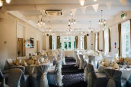 Halifax Hall wedding Dining Room 2 (Gemma and Gary)