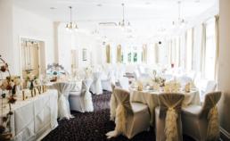 Halifax Hall wedding Dining Room (Gemma and Gary)