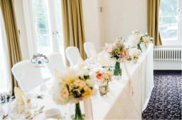 Halifax Hall wedding Top Table (Gemma and Gary)