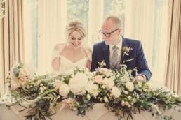 Halifax Hall Hotel wedding bride & groom