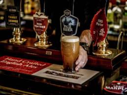 University Arms pub real ale pumps