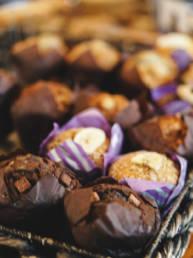 GeniUS Cafe muffins
