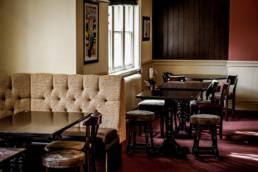 University Arms bar area