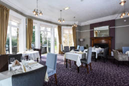 Halifax Hall Hotel dining room