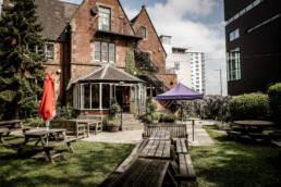 University Arms - Best beer garden in town!