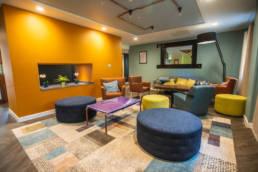 Jonas Hotel lounge area