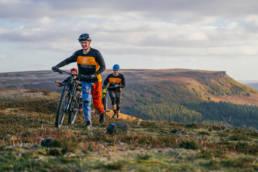 Mountain biking in the Peak District